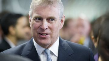 Prince Andrew, the Duke of York. (AAP)