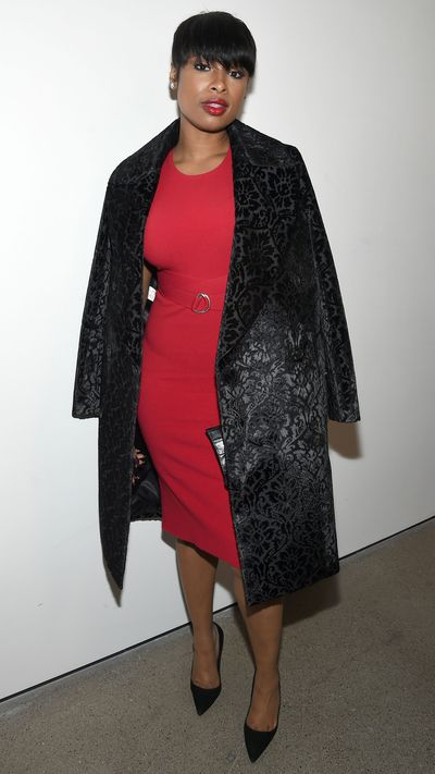 Jennifer Hudson at Michael Kors