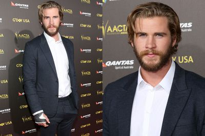 Looks like Liam Hemsworth might need a nurse to help him look after that hand. <br/><br/>Any takers?