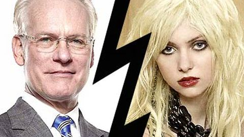 "Tim Gunn slags off ""sad"", ""pathetic"" Taylor Momsen"