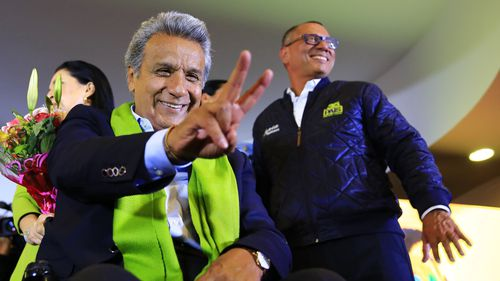 Socialist Lenin Moreno leads Ecuador vote: partial count