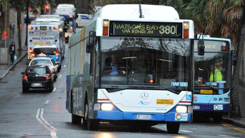 One in every 10 buses in the south and south-east is late. (9NEWS)