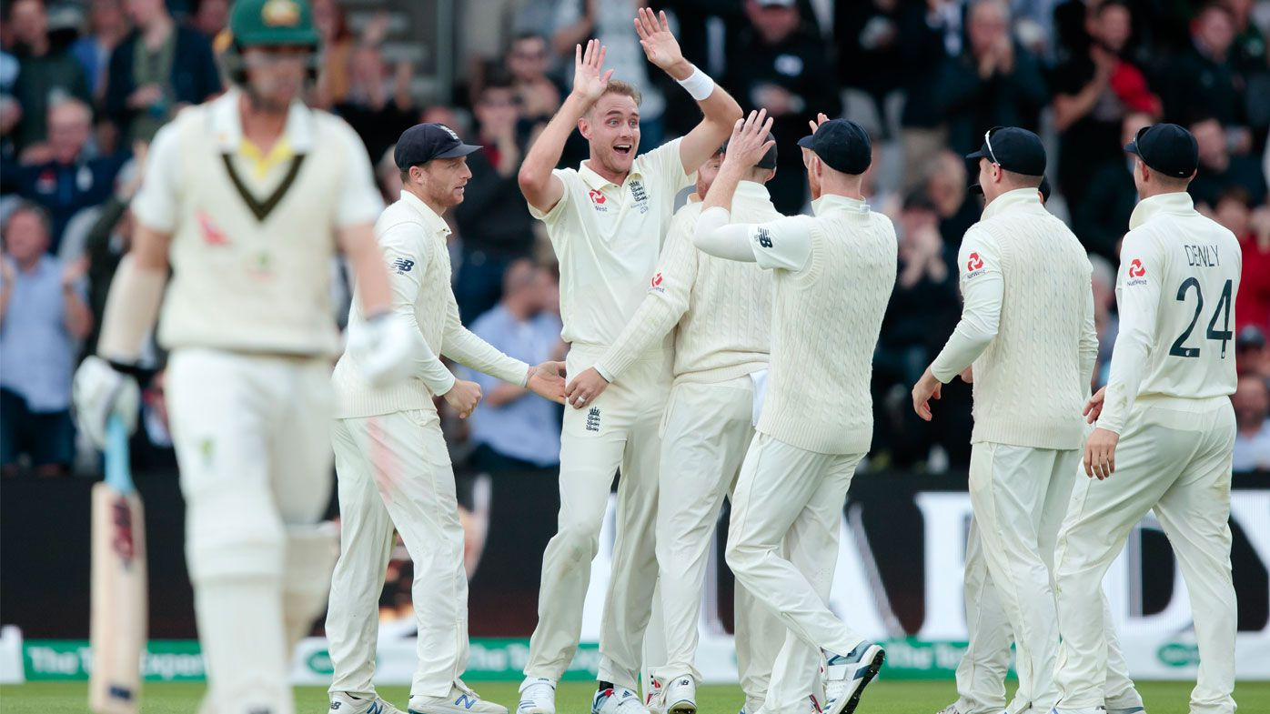 Fans go nuts for 'one of Broad's best deliveries ever'