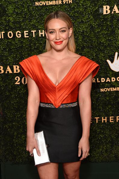 Hilary Duff, Adopt Together Baby Ball Gala, October 2019, Los Angeles