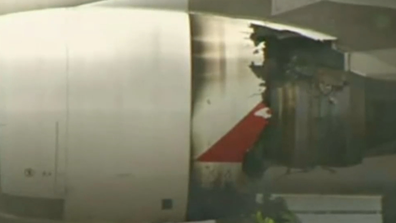 The full extent of the damage became obvious after QF32 landed.