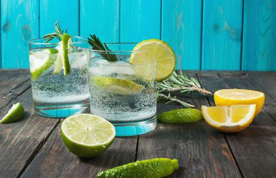 6. Gin and tonic