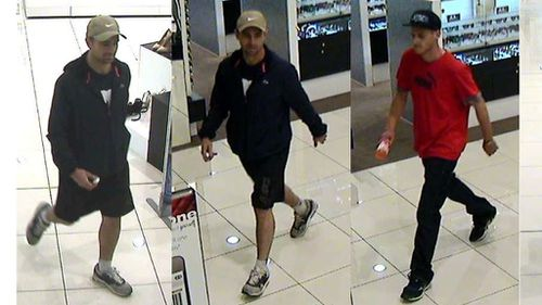 Police searching for two men after multiple watches stolen from Adelaide shopping mall