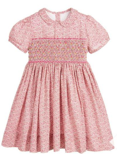 "<a href=""https://www.childrensalon.com/annafie-pink-floral-cotton-hand-smocked-dress-107344.html?__currency=AUD&amp;___fdc=AU&amp;gclid=EAIaIQobChMIlfjdlIXX3AIVWKaWCh1lagsZEAkYASABEgK5L_D_BwE"" target=""_blank"" title=""Annafie, Pink FloralCotton Hand-Smocked Dress"" draggable=""false"">Annafie, Pink Floral Cotton Hand-Smocked Dress</a>, $110.70<br />"