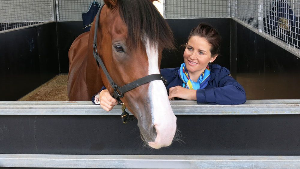 Michelle Payne is on the lookout for a potential Melbourne Cup starter to train, (AAP)
