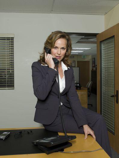 Melora Hardin as Jan Levinson on The Office