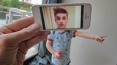 Justin Bieber as a baby. (Instagram)