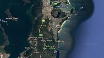 Early stages of the investigation suggest the man swam at the unpatrolled northern end of Caves Beach on Tuesday.