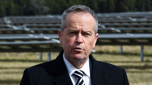 Bill Shorten has announced the Labor Party's energy policy.