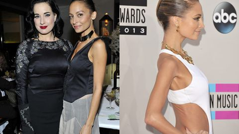 Nicole Richie 'drops to 40kg on diet of sunflower seeds, celery, juice and gum'