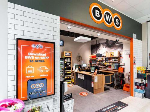 BWS storefront