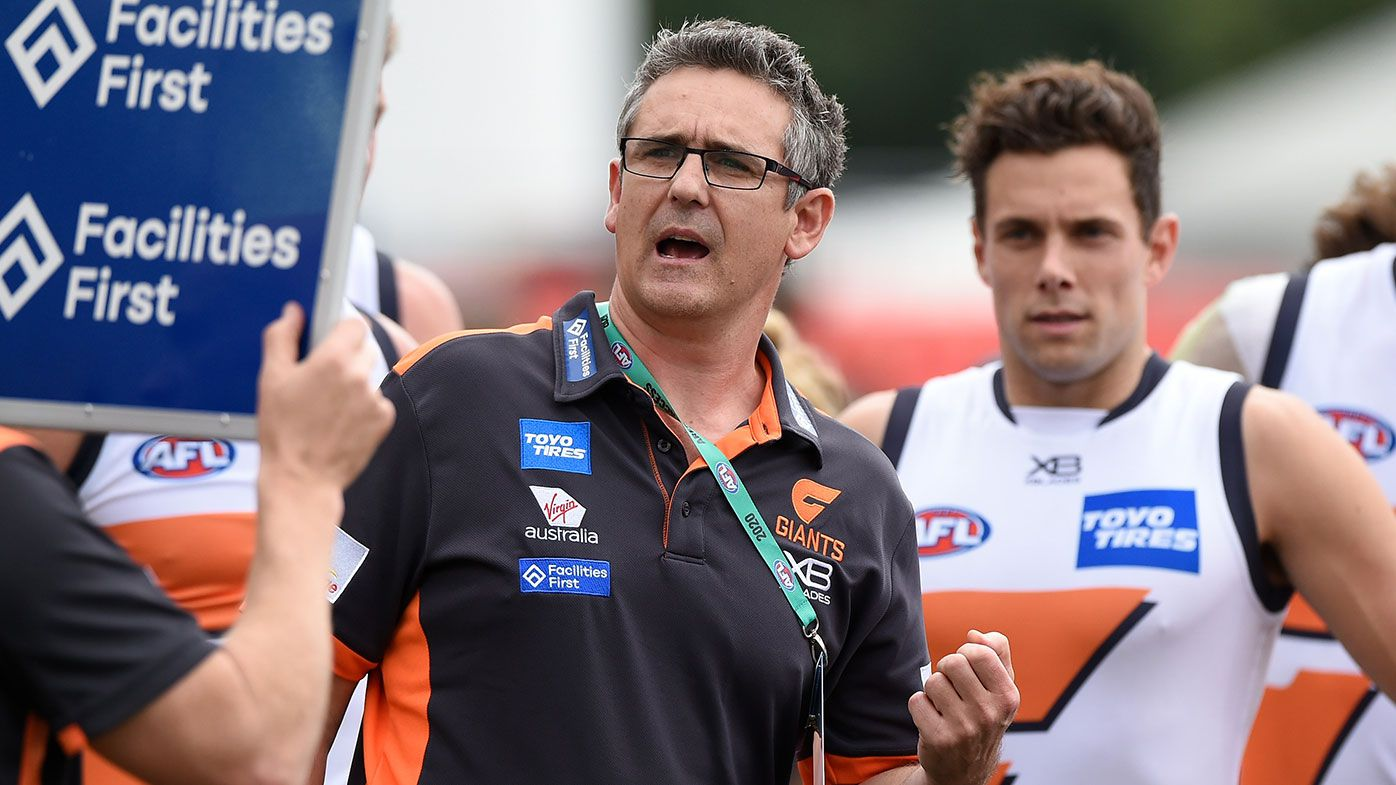 GWS Giants coach Leon Cameron