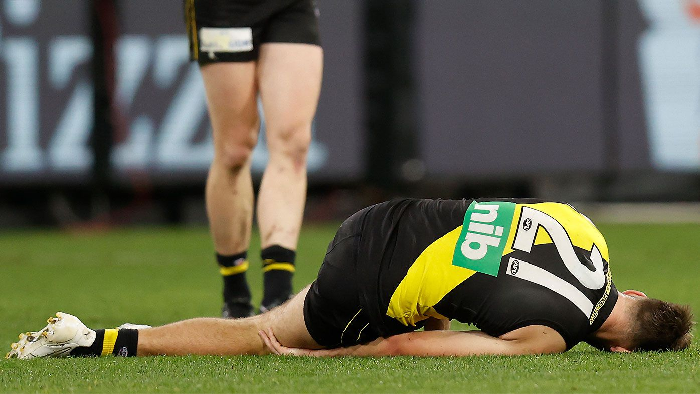 Damien Hardwick says Richmond fearing the worst for Noah Balta after nightmare outing
