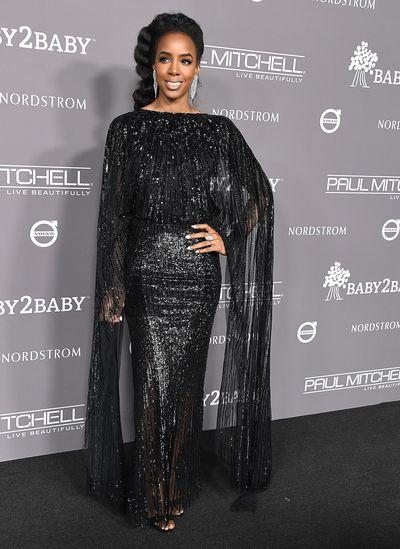 Singer Kelly Rowland at the 2018 Baby2Baby Gala in Los Angeles, November, 2018