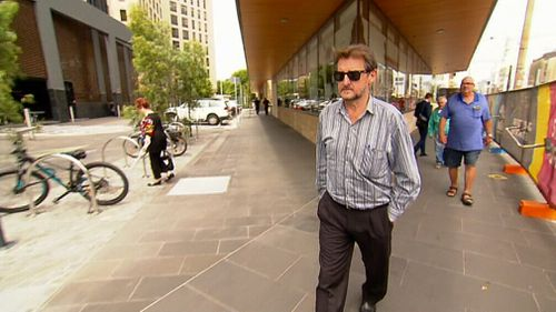 Rodney Lawrence claimed he was threatened by Ms Dixon's killer to help move her body. (9NEWS)