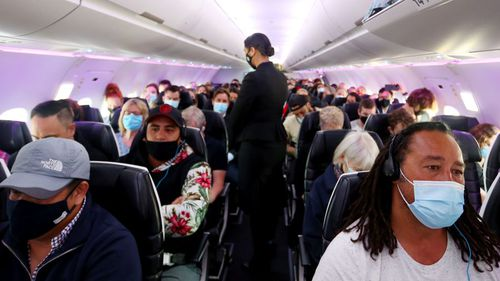 The trans-Tasman travel bubble between New Zealand and Australia begins on Monday, but people have been warned they can't go onto the rest of the world.