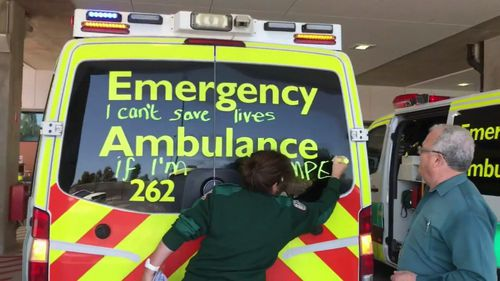 The state government has said they have poured an extra $800 million into the health budget.