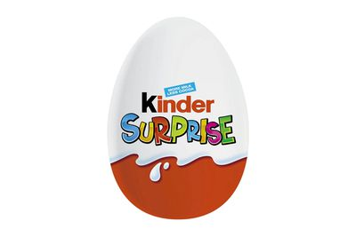 Kinder Surprise: 113 calories/471kj