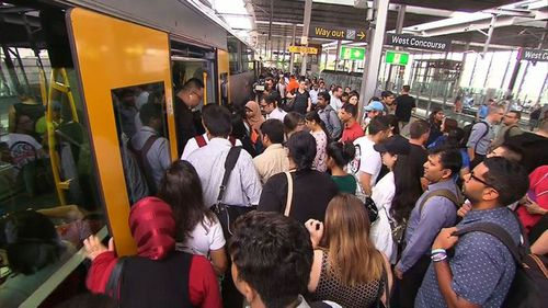 Timetables will return to normal on Monday. (9NEWS)