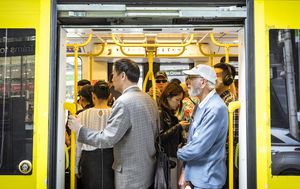 Coronavirus: Melbourne trams and buses make front row of seats 'out of bounds'