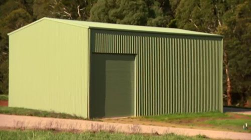 Millions of litres of groundwater are sent out from this shed every year.