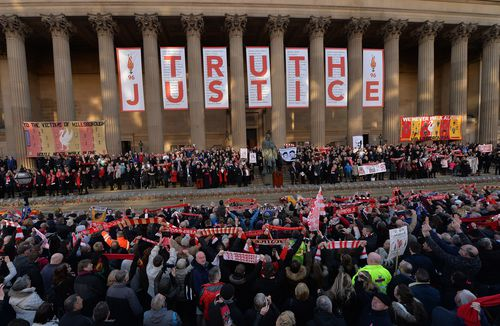 Liverpool fans have fought hard to earn justice for the 96 people killed in the disaster. Picture: AAP