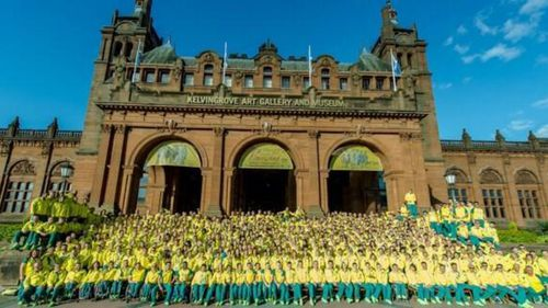 Tribute to MH17 victims in Glasgow Games opening ceremony