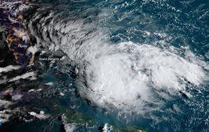 Hurricane-ravaged Bahamas hit by Tropical Storm Humberto