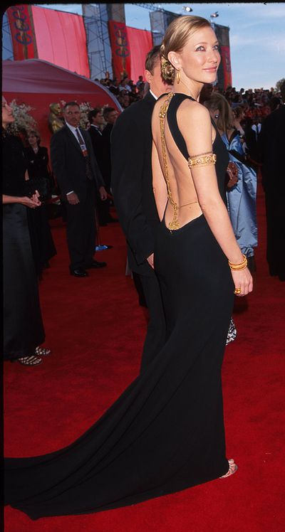 Cate Blanchett in Jean Paul Gaultier at the 72nd Annual Academy Awards  in Los Angeles in January, 2000