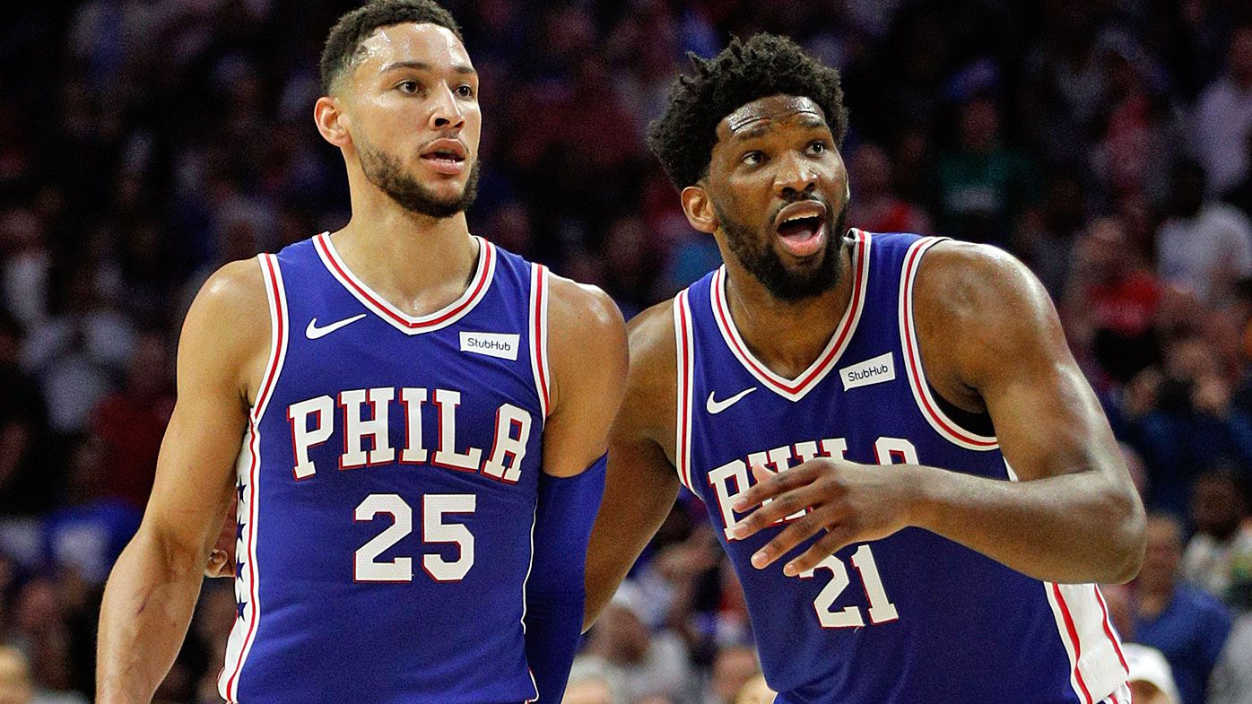 Embiid grills Simmons during team meeting