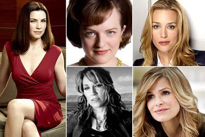 Julianna Margulies &mdash; <I>The Good Wife</I><br/>Elisabeth Moss &mdash; <I>Mad Men</I><br/>Piper Perabo &mdash; <I>Covert Affairs</I><br/>Katey Sagal &mdash; <I>Sons Of Anarchy</I><br/>Kyra Sedgwick &mdash; <I>The Closer</I><br/><br/><b>TVFIX prediction:</b> Kyra Sedgwick shocked everyone when she won an Emmy, so she might win a Golden Globe, too. It's great to see Katey Segal is up, but the winner <i>should</i> be the perpetually overlooked Elisabeth Moss.