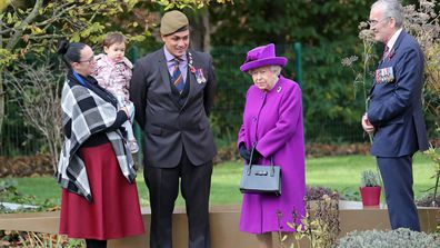 Queen Elizabeth visits the Royal British Legion Industries village in Kent 4