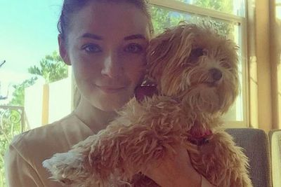 "<i>Once Upon a Time</i> actress Sarah Bolger shared this super cute selfie of her with her dog Fluff Bucket.<br/><br/>""iPhone6 non-selfie,"" Sarah wrote alongside the snap. ""Technically Siri took this photo. Fluff bucket in all her glory Xx""<br/><br/>From pooches and pussycats to chickens, we're starting to love celebrity pets more than we love the stars themselves! Here are some of the cutest celeb pets that we're always double-tapping on our feed..."