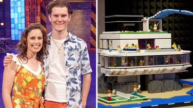 LEGO Masters 2020 Dream Home Challenge Jess and Anthony