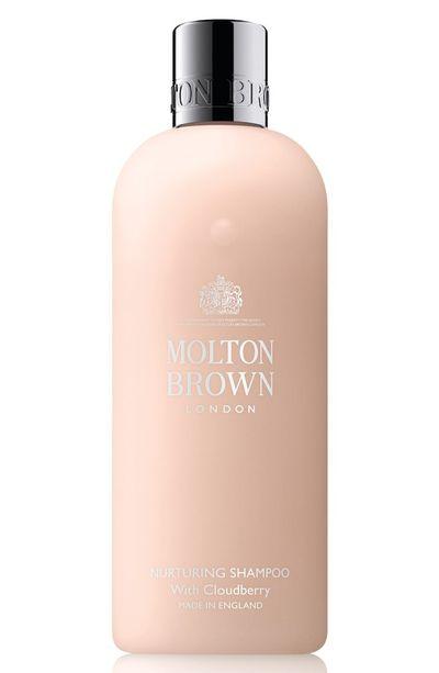 "Molton Brown <a href=""http://shop.davidjones.com.au/djs/en/davidjones/nurturing-shampoo-with-cloudberry"" target=""_blank"" draggable=""false"">Nurturing Shampoo with Cloudberry</a>, $29<br>"