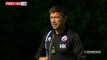 Soccer superstar Harry Kewell makes transition to coaching