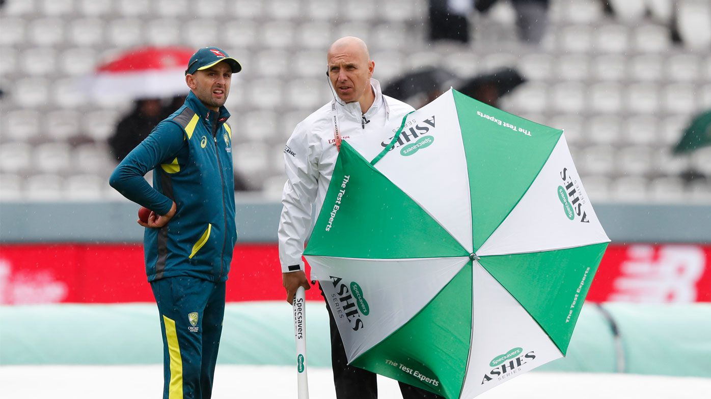 No balls: Rain ruins day one at Lord's