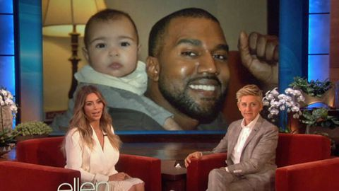 Watch: Kim unveils first pic of Kanye and baby North together ... and it's ridiculously cute!