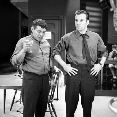 Jerry Stiller and William Shatner: 1962