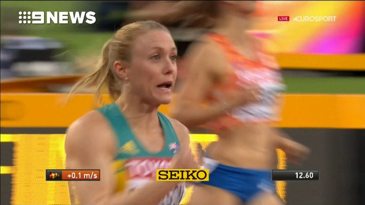 Sally Pearson wins gold at World Athletics Championship