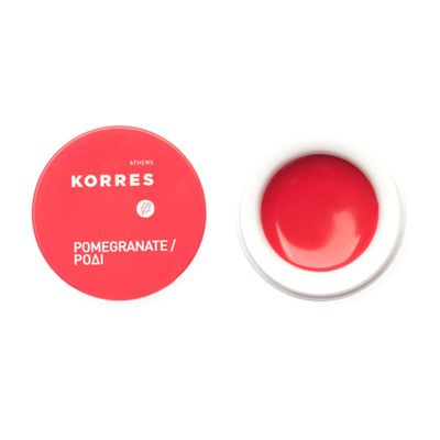 A mini, lightly tinted lip balm doubles to add a flush of dewy colour to the cheek in a pinch.