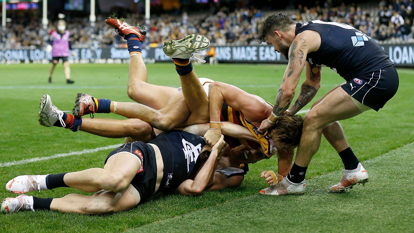 Carlton star Zac Williams handed one-match suspension by MRO for rough conduct