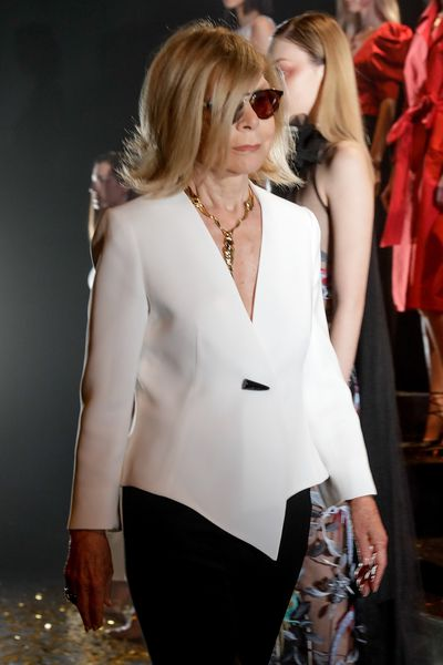 <p>The Empress of Australian Fashion Carla Zampatti, 74, has her finger firmly affixed to the pulse of women's desires. Her breathy whisper makes men half her age weak at the knees.</p>