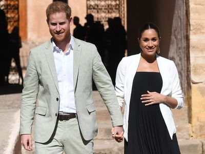 Meghan and Harry in Morocco, February 2019