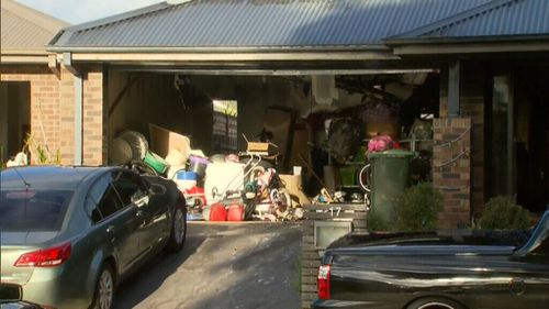 The property is home to a young family. (9NEWS)