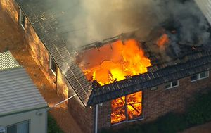 Teenage girl charged with setting fire to Sydney home